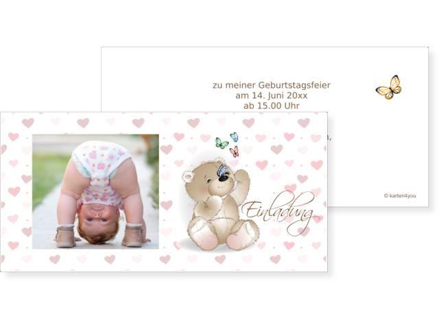 Bärensüss Buchzeichen 2-seitig 70x210mm beige / chamois, Geburtstag, Einladungskarten, Geburtstagskarten, Kindergeburtstag, Kids, Birthday,  Party, Birthdayparty