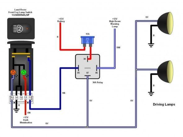Driving Light Wiring Diagram Toyota Trailer Light Wiring Electrical Wiring Diagram Trailer Wiring Diagram