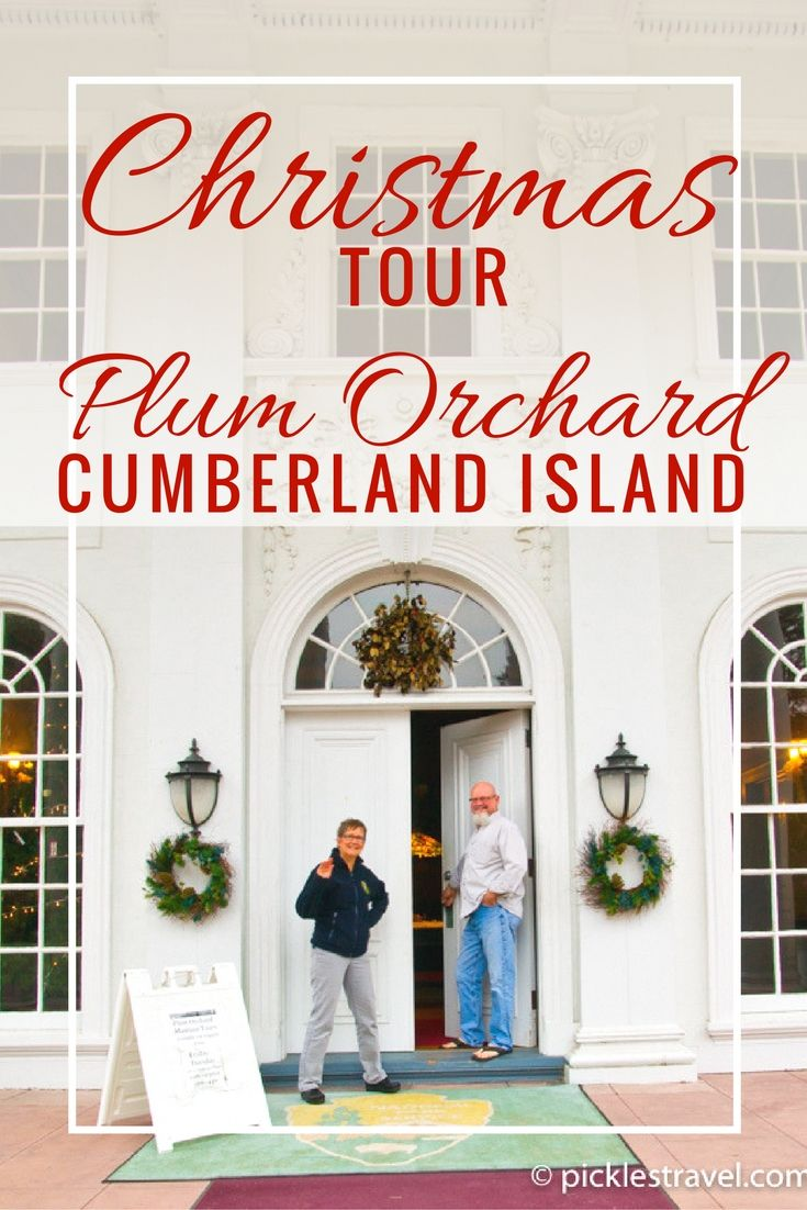 Wondering what things to do with the kids in Georgia this holiday? Take a Christmas tour of Plum Orchard Mansion on Cumberland Island- (National Seashore) Christmas decorations combined with Tiffany lamps and original elegance it's a tour you and the family will always remember