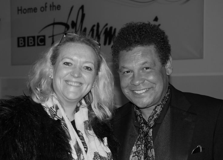 https://flic.kr/p/yiBMDF | Ann-Marie Humphreys & Craig Charles after Scary Fairy | Taken after the recording of Scary Fairy in Dock 10 BBC Philharmonic Home Media City Salford Quays recorded as live for BBC Radio 2