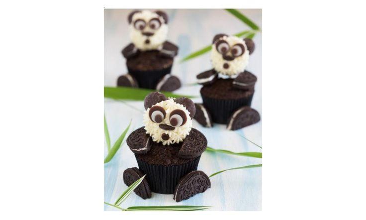 Pandabeer cupcakes recept | Dr.Oetker