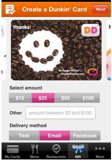 DD App  Dunkin Donuts app