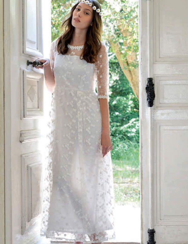 Robe blanche molly bracken fille