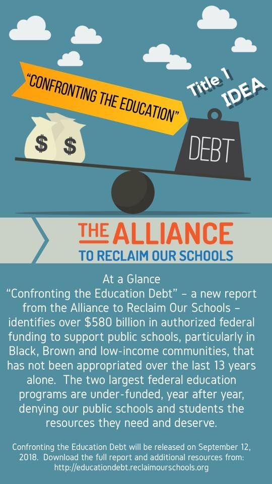 Confronting Education Debt >> Confronting The Education Debt Report Documents The Historic