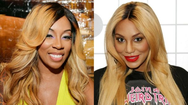 Tamar Braxton Disses K. Michelle on 'The Arsenio Hall Show' !! K. Michelle Fires Back! [Video]