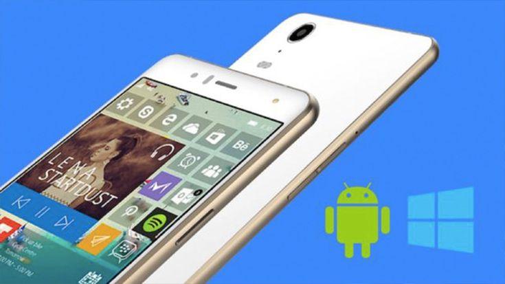 Webtekno ///  Hem Android'li Hem Windows 10'lu Telefon Yolda: Gerek Var mı?