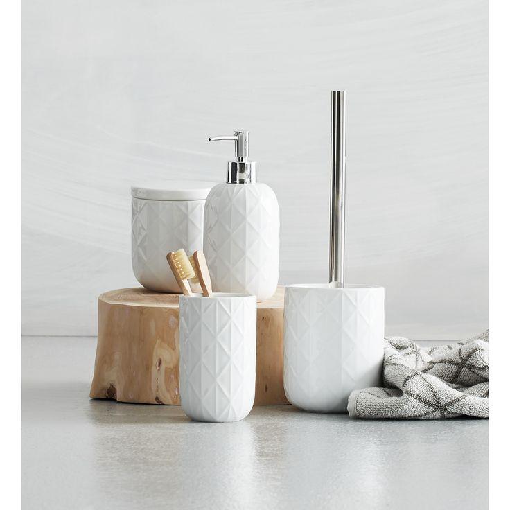 embossed toilet brush set kmart