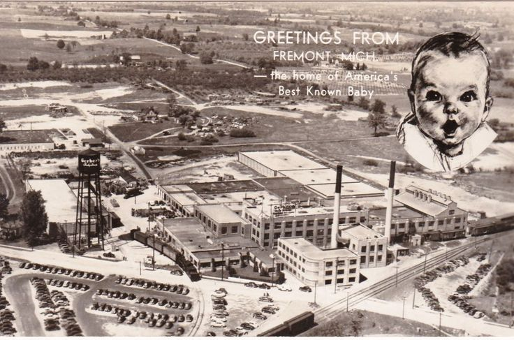 RP: Gerber Baby Food Factory , FREMONT , Michigan, 40s-50s