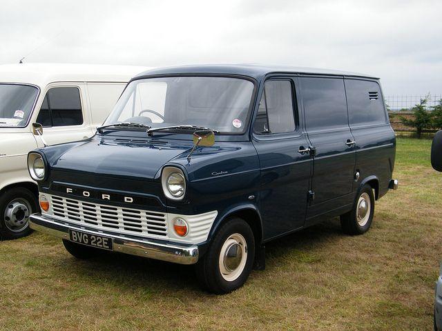 ford custom vans   1967 Ford Transit 'Custom' Van
