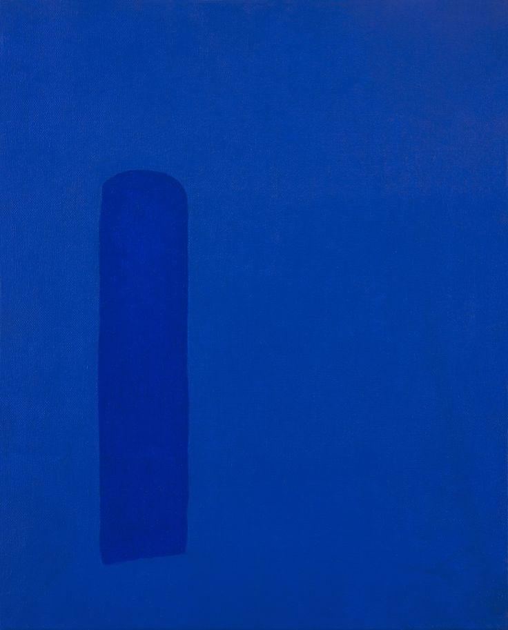Werner Stemans  Deux Bleus  - Photo Raphaële Kriegel - 2105 - www.photographe-tableau-paris.com