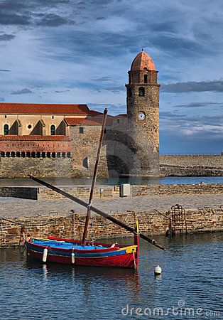 The Bay of Collioure, south of #France