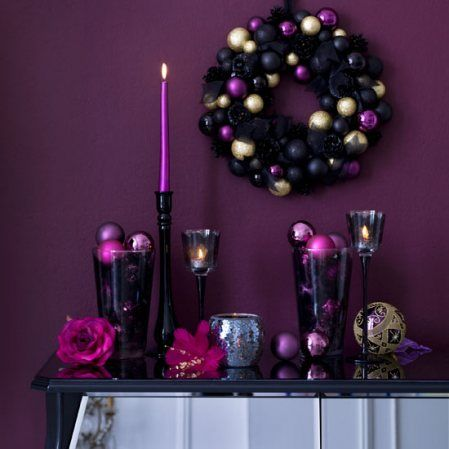 designs that inspire to create your perfect home  Purples Christmas, luv luv luv it