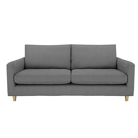 Buy John Lewis Bailey Large Loose Cover Sofa, Kerry Charcoal Online at johnlewis.com. £699 on sale