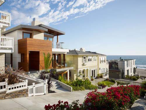 33rd Street Residence by Rockefeller Partners Architects.Tropical House, Beach Home, Beach House, Rockefeller Partner, Dreams House, 33Rd Street, Partner Architects, Design, Manhattan Beach