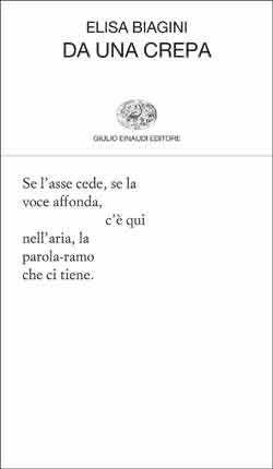 Elisa Biagini, Da una crepa, Collezione di poesia - DISPONIBILE ANCHE IN EBOOK