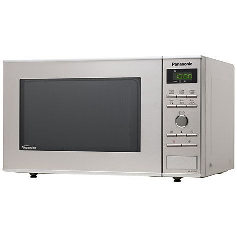 Buy Panasonic NN-SD271S Microwave Oven, Stainless Steel Online at johnlewis.com