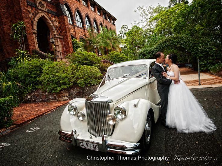 Brisbane Wedding Photographers, Christopher Thomas Photography, Brisbane Wedding Car