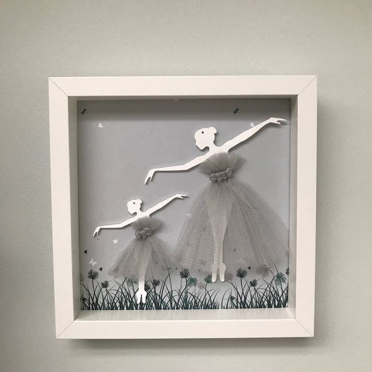 A personal favourite from my Etsy shop https://www.etsy.com/uk/listing/519901890/ballerina-wall-art-handcrafted-framed-3d