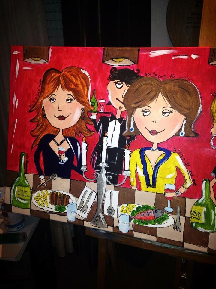 Made by herma netten  Pop art  painting