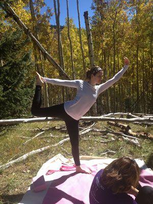 83 best amazing yoga poses images on pinterest yoga poses take your zen to the trails with hiking yoga malvernweather Images