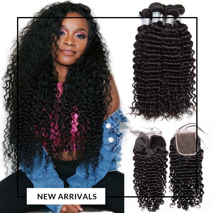 Curly Deep Wave Malaysian Hair Bundles Bundles Curly Deep