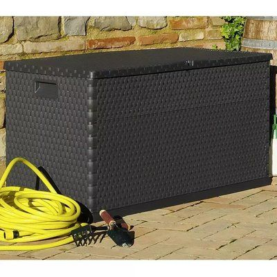Sol 72 Outdoor Clarksdale 111 Gallon Plastic Deck Box – Products
