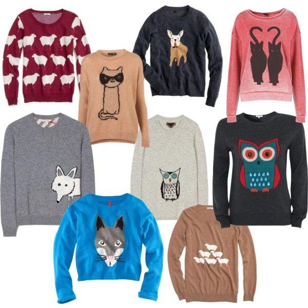 Animal Sweater Madness...amazingness!