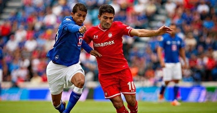 Toluca vs Cruz Azul en vivo -