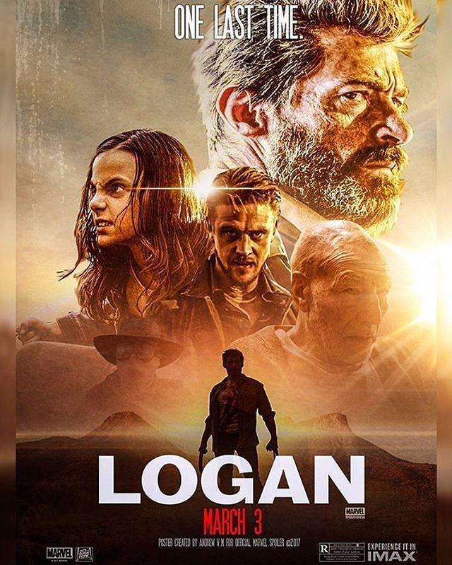 #LOGAN POSTER!!! New Logan Movie Poster Released. So Badass!