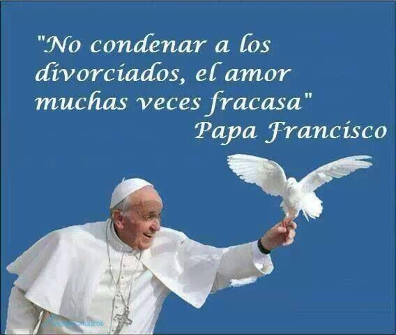"""""""Do not condemn the divorced. Many times love fractures."""