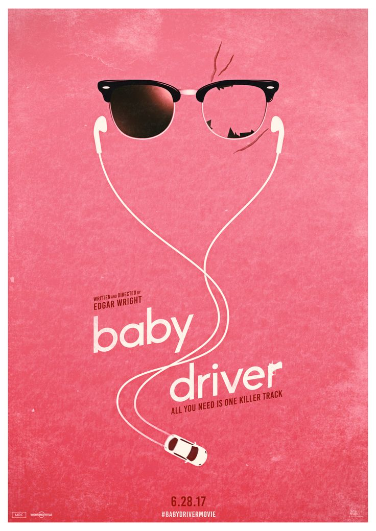 Baby Driver Poster Ver.1 – PosterSpy