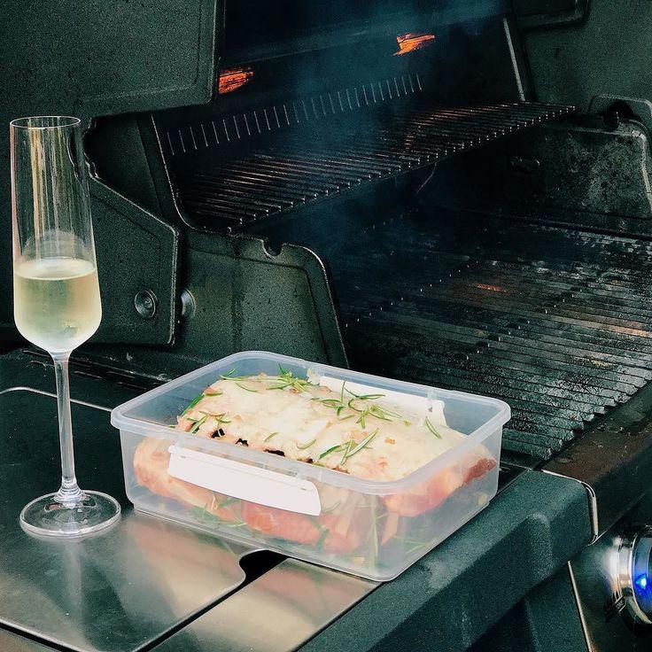 Comber jagnięcy z grilla - mniam #broilking #broilkingpl #broilkingpolska #grill #grillgazowy #mniam #sunday #niedziela #obiad #prossecco #vaco #vscocam