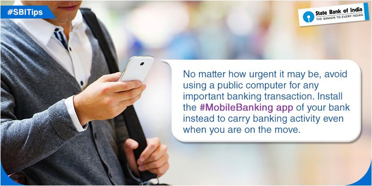 #SBITip: Install the #MobileBanking app of your bank to carry banking activity even when you are on the move. #StateBankOfIndia #SBI