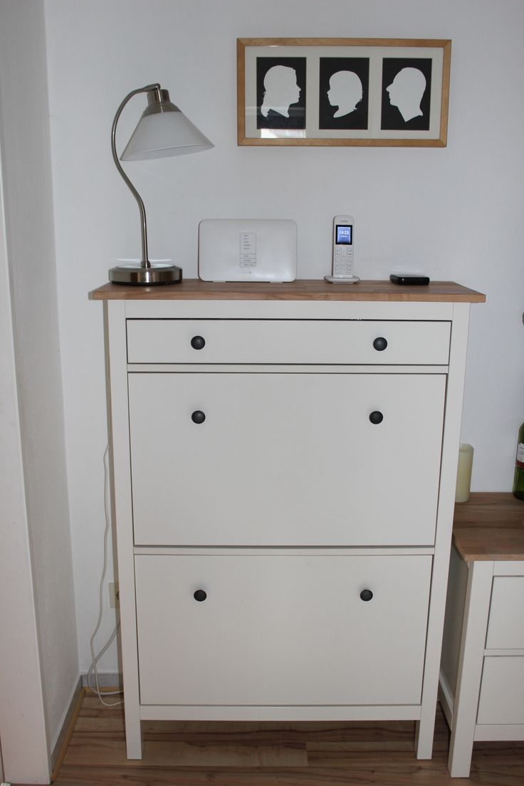 ikea hacking hemnes schuhschrank mit massiver. Black Bedroom Furniture Sets. Home Design Ideas