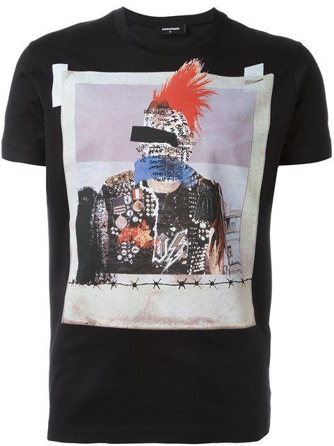 Dsquared2 Camiseta com estampa