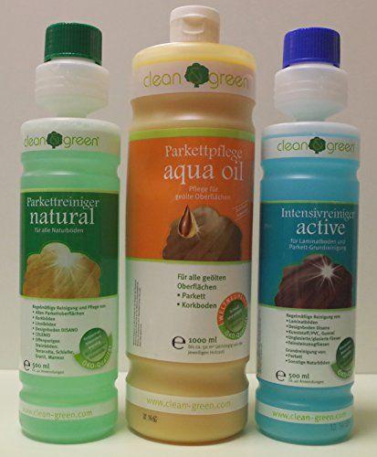 AB.bauconcept gbR © kombiangebot haro green active aqua clean & natural oil: Haro clean green & servent nettoyage pour parquet naturböden…