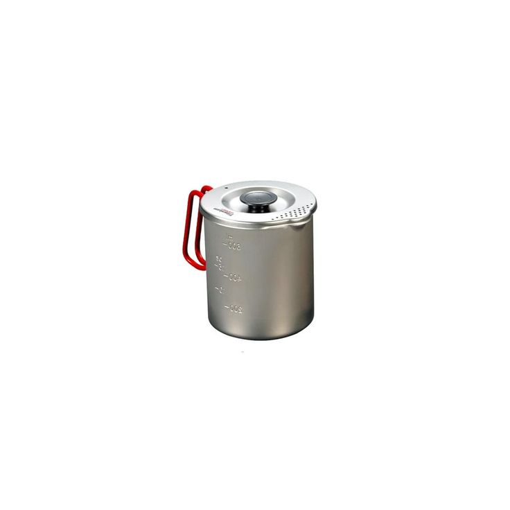 Evernew ECA-521R Titanium Pasta Pot 700 | Ultralight Outdoor Gear