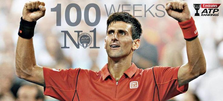 100 Weeks at No. 1!