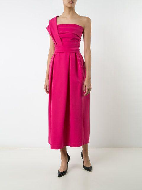 Preen By Thornton Bregazzi one-shoulder evening dress