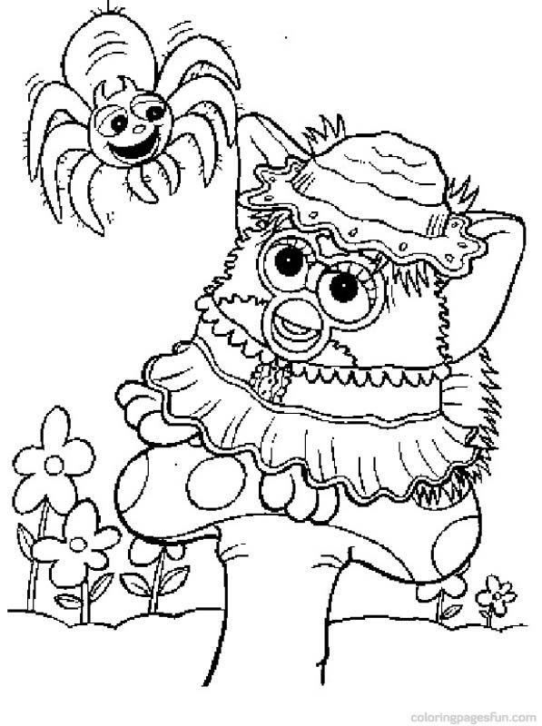 Furby Coloring Pages 19