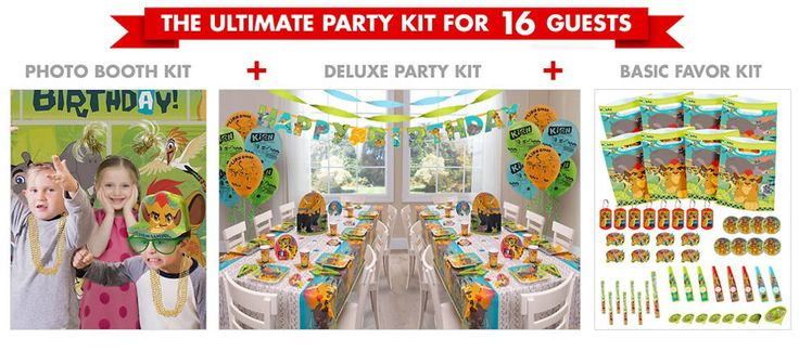 Lion Guard Party Supplies - Lion Guard Birthday Party - Party City