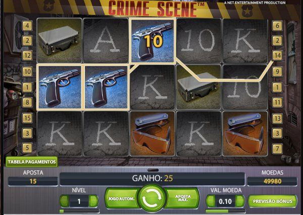 Crime Scene #slotmachine #slot