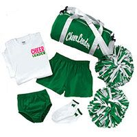 Accessory Packages | Cheerleading Accessories Packages - Cheer Briefs, Cheerleading Pom Poms, Cheer Socks, Cheerleader Bags, Cheer Halftops, Cheer T-Shirts & More! A great way to save!