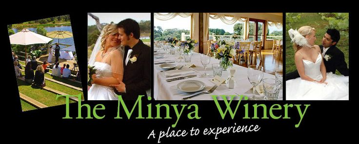 The Minya : A nice secluded / private venue with beautiful lake setting, brilliant wedding set-up in their Lakeside ampitheatre. Made more brilliant by way of a Ceremony performed by WedbyNed ! 15 minutes Geelong, 15 minutes Torquay.