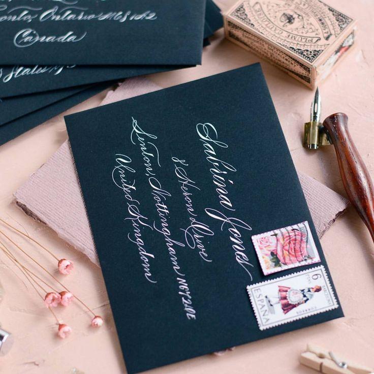 how to return address wedding envelopes%0A     Likes     Comments  Nabeelah   tinyoryx  on Instagram   u   cAddressing
