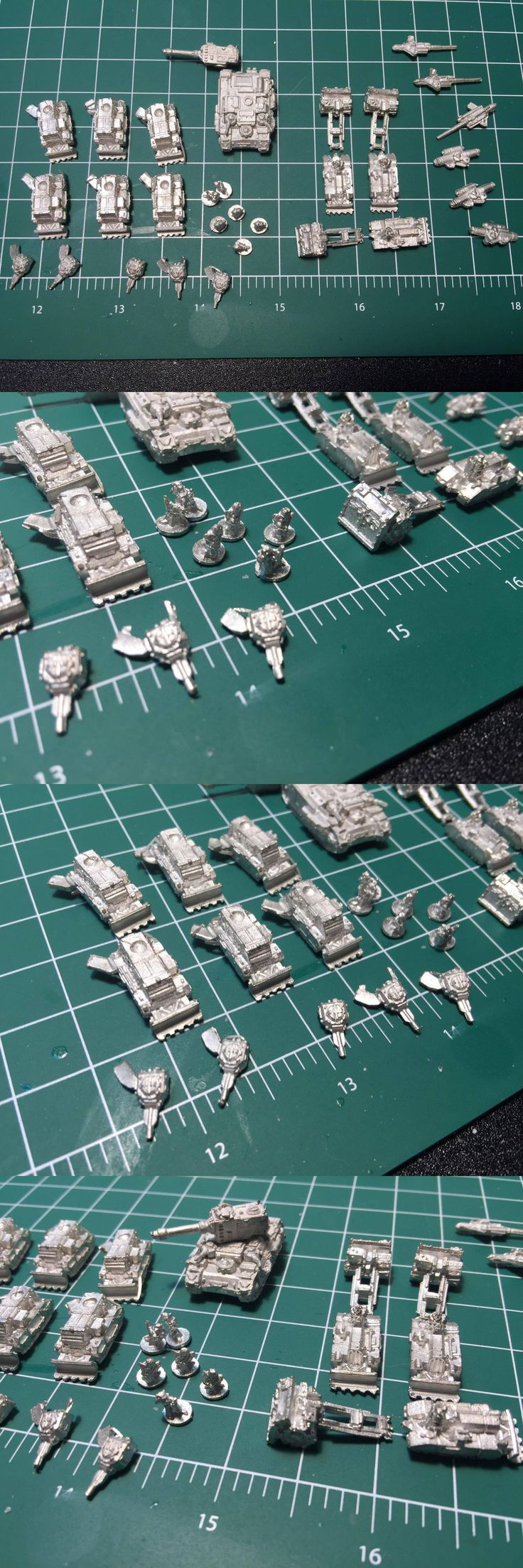 Other 40K Items 31399: Epic 40K Armageddon Imperial Guard Baran Siege Tanks And Artillery -> BUY IT NOW ONLY: $40 on eBay!