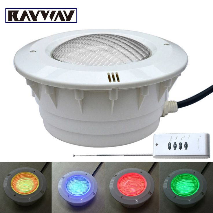IP68 Waterproof Led pond lights underwater 40W RGB PAR56 AC12V Swimming Pool Light led pool lights Underwater Fountain lights