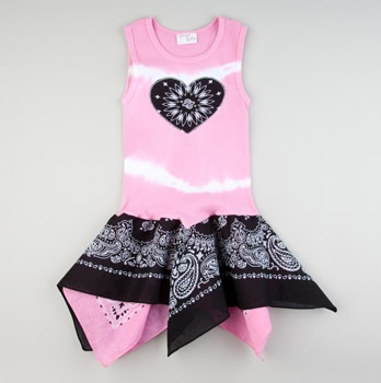 Scarf Dress Light Pink... Inspiration!