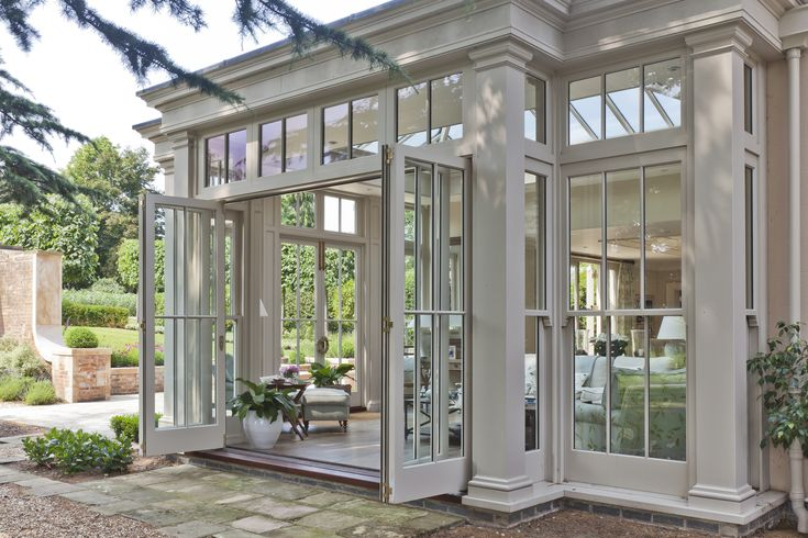 162 best images about conservatories on pinterest for Orangery lighting ideas
