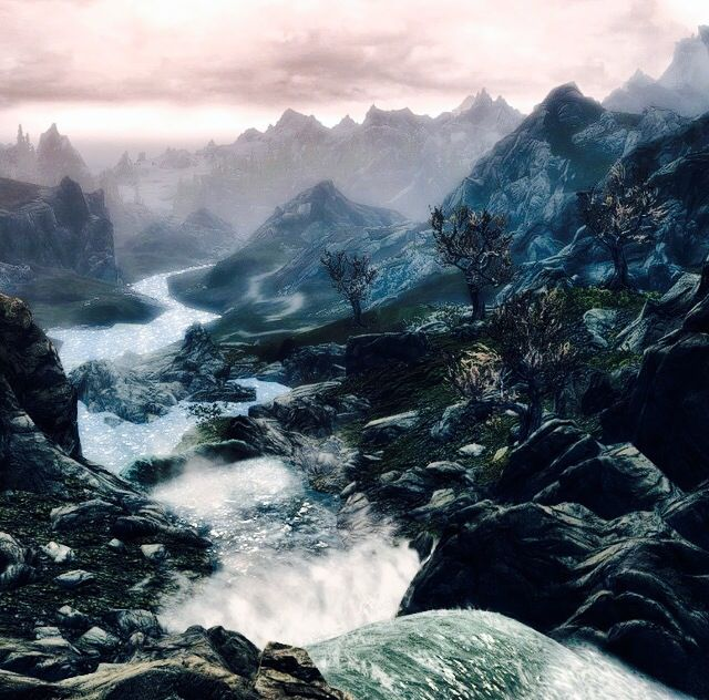 Prettiest Places Skyrim: 736 Best Images About Skyrim On Pinterest